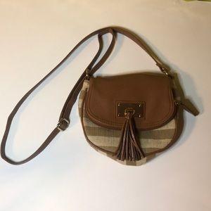 Brown&tan purse